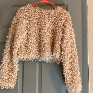 cute high rise bubble sweater